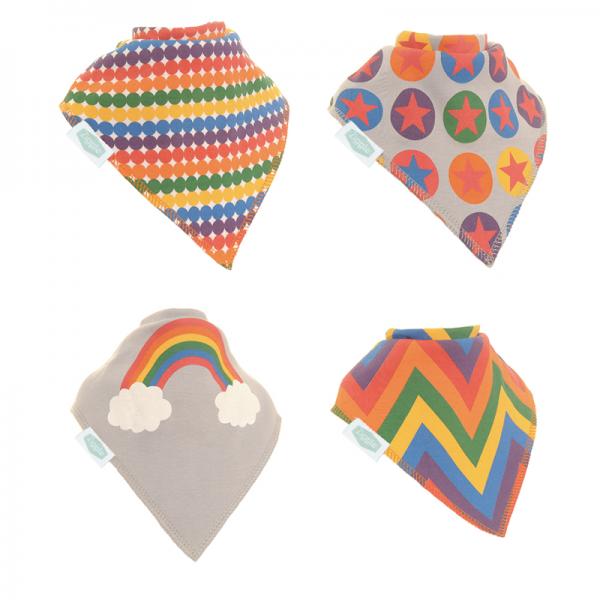 Ziggle Bibs Rainbow Colours Pack
