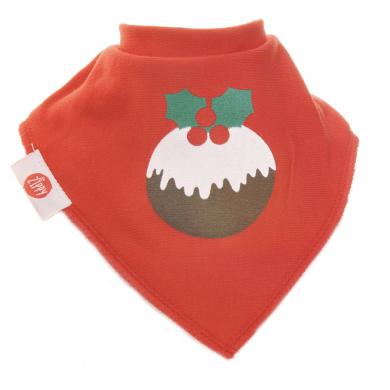 Ziggle Bibs - Red Christmas Pudding