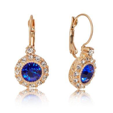 Evie Earrings Blue