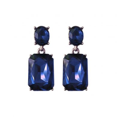 Midnight Blue Alice Earring