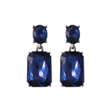Midnight Blue Alice Earring