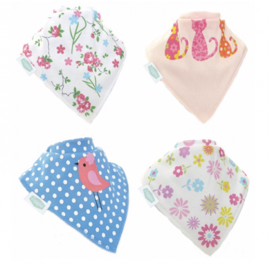 Zippy Bandana Bibs - Pretty Patterns Pack