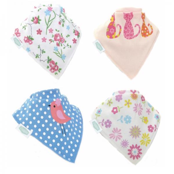 Zippy Bandana Bibs - Pretty Patterns Pack