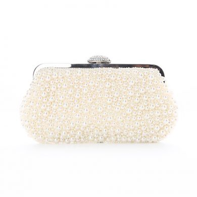 Sophia Pearl Clutch Bag