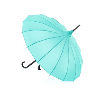 Teal Pagoda Umbrella