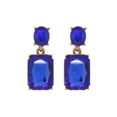 Alice Earrings Royal Blue