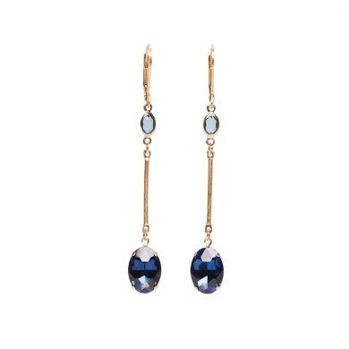 Ella Blue Drop Earrings