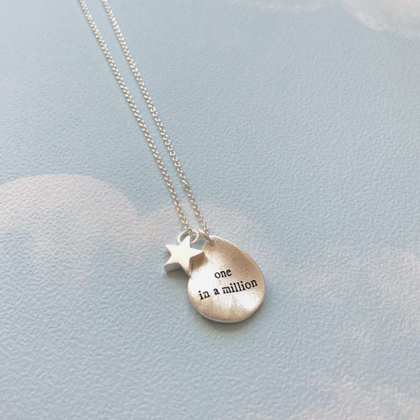 One in a Million Silver Pendant