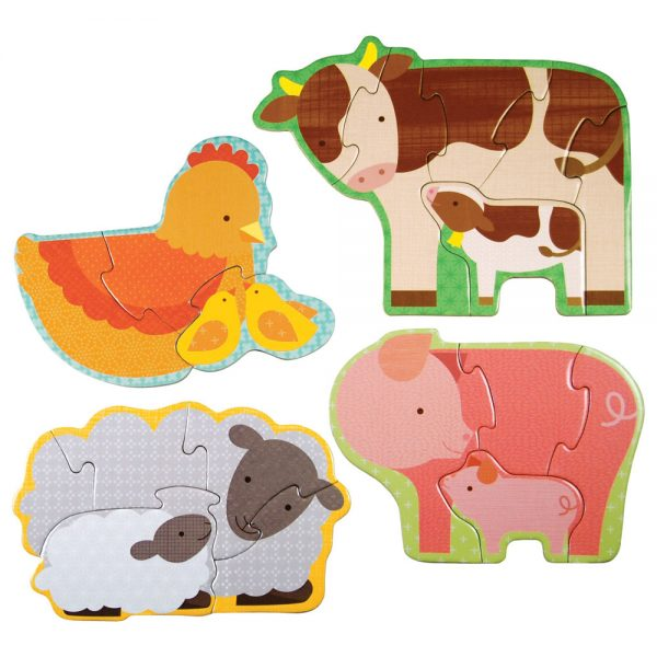 PETIT COLLAGE FARM PUZZLE
