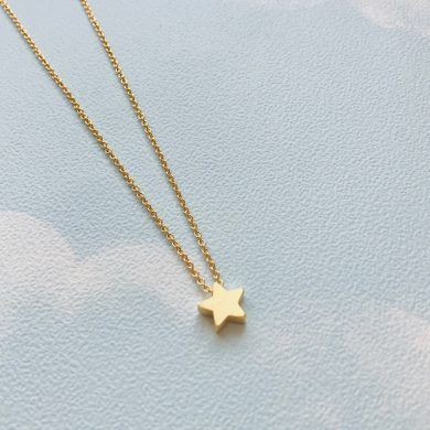 shining_gold_star_necklace