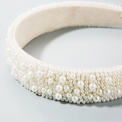 pearl hairband