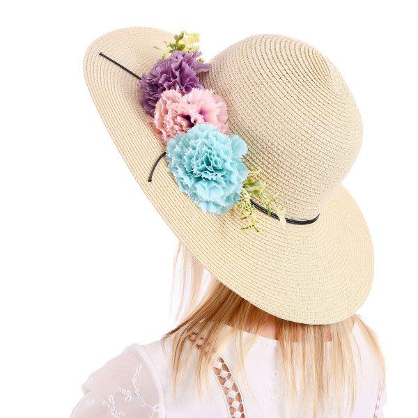 floral sunhat