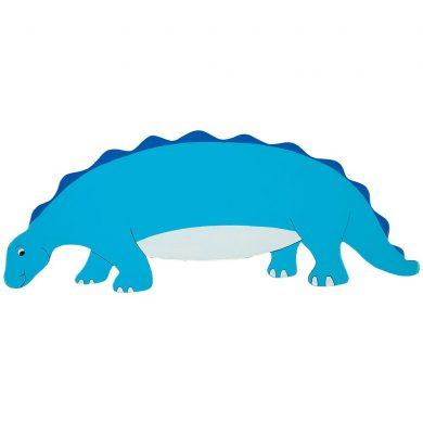 blue dino plaque