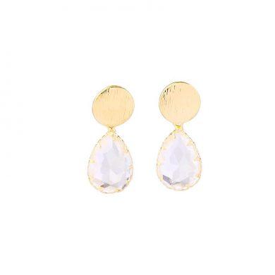 Gold Tear Drop earrings