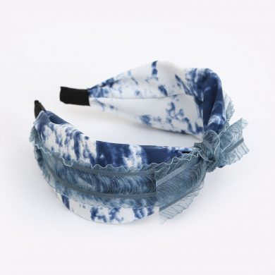 pretty blue hairband