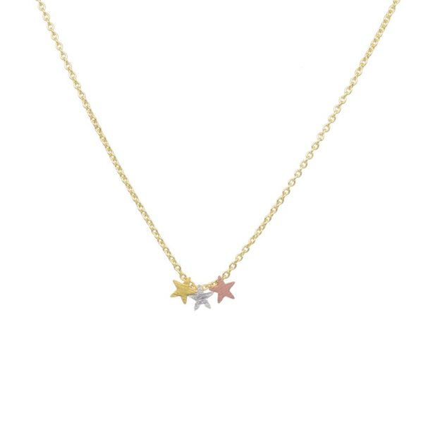 tiny stars necklace