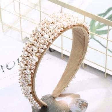 rose pearl hairband