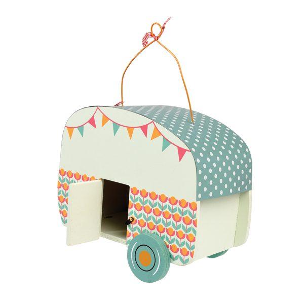 Caravan Birdhouse Back