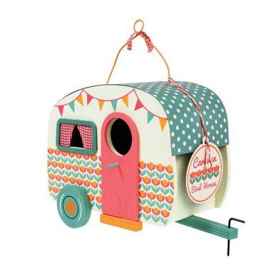 Caravan Birdhouse Front