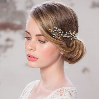 EDITH BRIDAL HAIR COMB