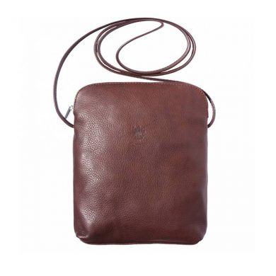 Naples Leather Crossbody Brown