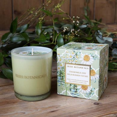 irish-botanicals-chamomile & wild-burren-thyme-candle