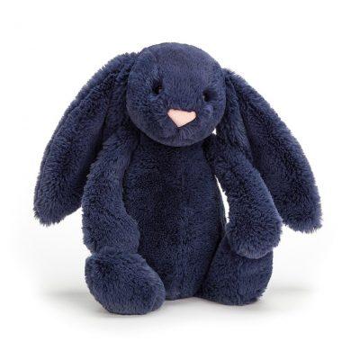 Jellycat Bashful Navy Bunny