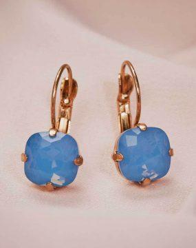 Julie Earrings - Cornflower Blue