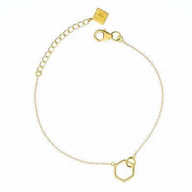 Juvi Gold Causeway Bracelet