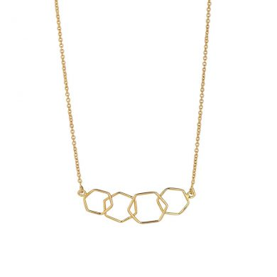 Juvi Gold Causeway Necklace