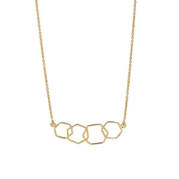 Juvi Gold Causeway Necklace