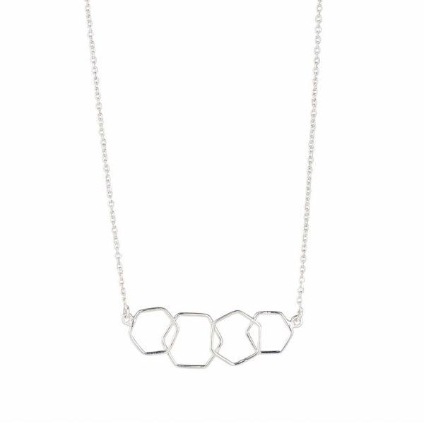 Juvi Silver Causeway Necklace