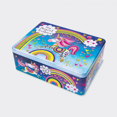 Magical Treasures Flittered Tin