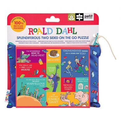 Roald Dahl Two-sided Puzzle Cover