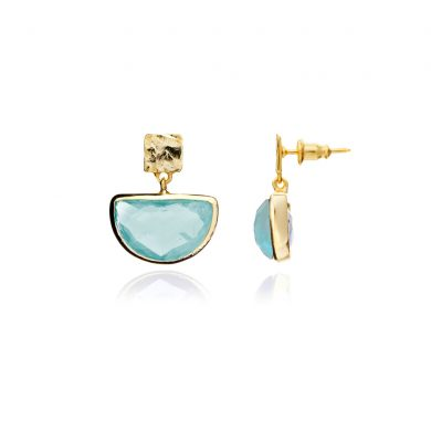 Skylar Gold Half Moon Earrings