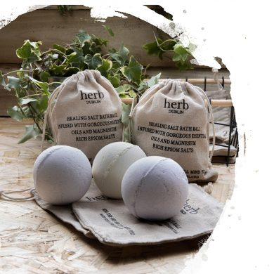 Herb Bath Ball Sandalwood & Rose
