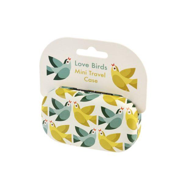 Love Birds Mini Travel Case