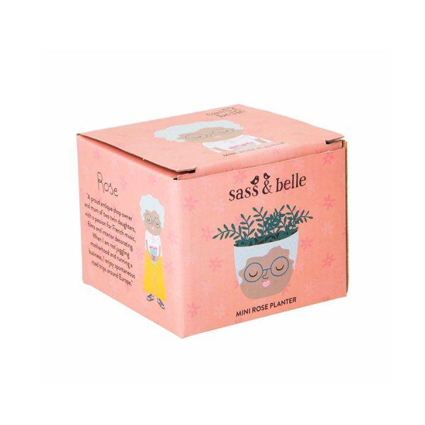 Mini Rose Planter Boxed