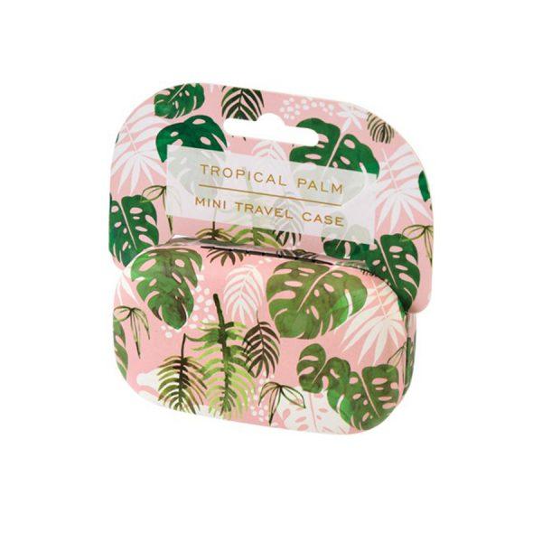 Tropical Palm Mini Travel Case