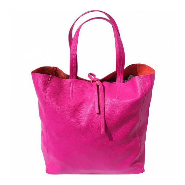 Babila Pink Leather Bag