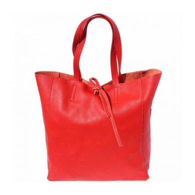 Babila Red Leather Bag