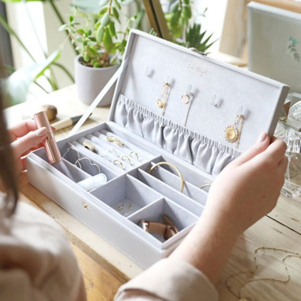 grey jewellery box