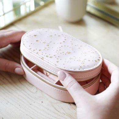 pink jewellery box