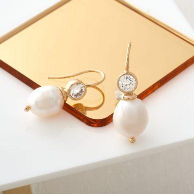 Louise Pearl Earrings