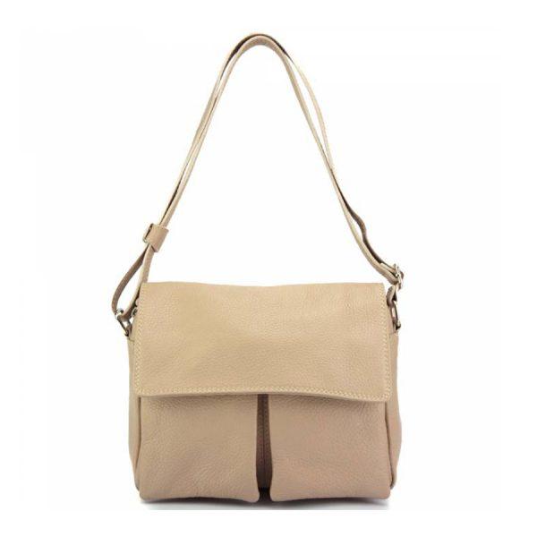 Florence Leather Handbag Taupe 2