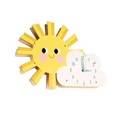 Hello Sunshine Wooden Wall Clock..