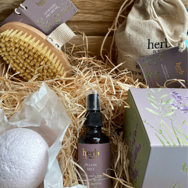 HERB DUBLIN LAVENDER WELLNESS BOX