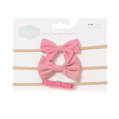 Ziggle Headband - Bright Pinks