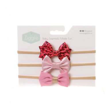 Ziggle Headband - Party Pinks