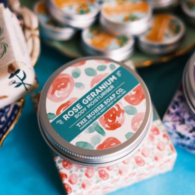 rose geranium moisturiser